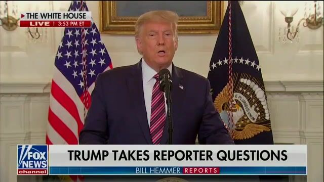 """Trump on Woodward audio of him saying he downplayed COVID: """"I love our country. I don't want people to be frightened."""""""