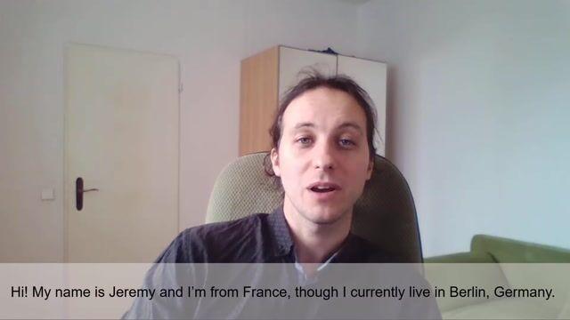 Jeremy L Profile Video