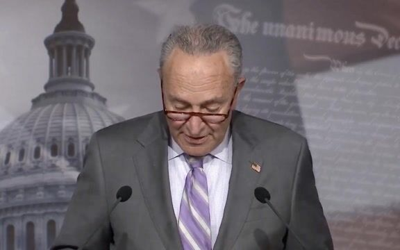 """Sen. Minority Leader Schumer on report Trump misled public about COVID: """"How many people would still be alive today?"""""""