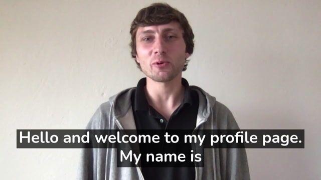 Igor D Profile Video