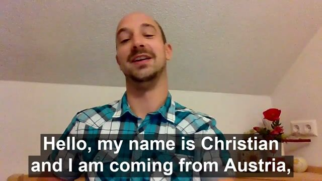 Christian S Profile Video