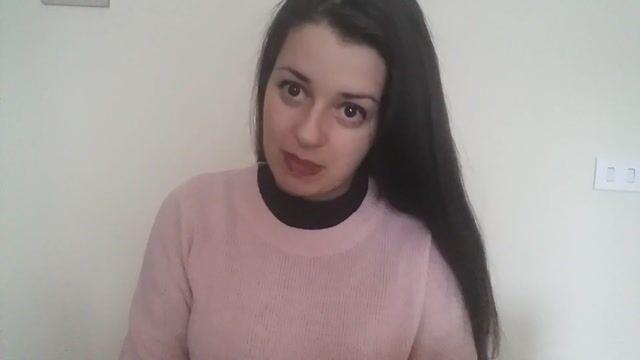 Cristina M Profile Video