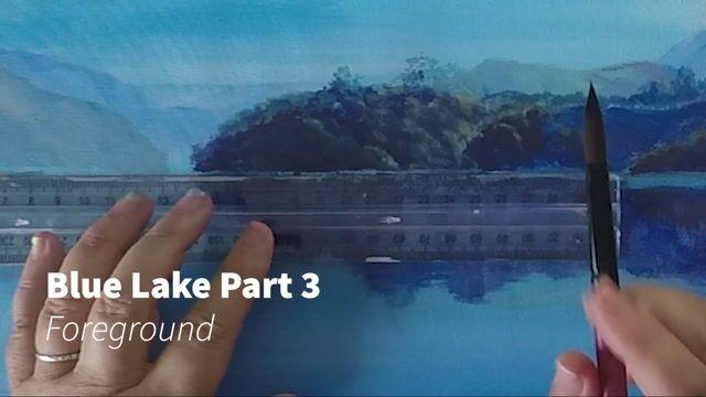 Blue Lake Part 3C - Foreground